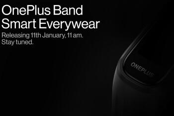 El primer dispositivo portátil de OnePlus se lanzará el 11 de enero