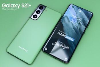 Samsung Australia lanza el Phantom Green Galaxy S21 Plus sin previo aviso