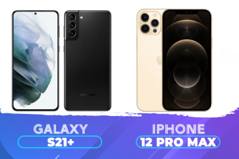 Samsung Galaxy S21 Plus frente a Apple iPhone 12 Pro Max