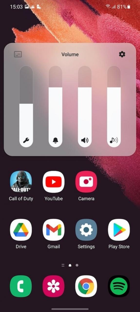 Modo de luz - Review del Samsung Galaxy S21