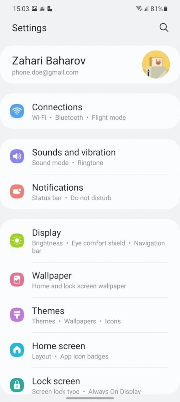Review del Samsung Galaxy S21