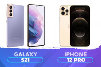 Samsung Galaxy S21 frente a Apple iPhone 12 Pro