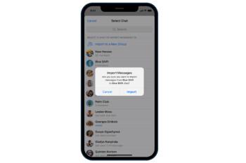 La actualización de Telegram facilita el cambio de WhatsApp