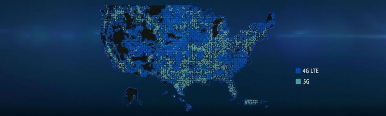 Cobertura de AT & amp; T a principios de 2021 - Mapa de cobertura de la red AT&T 5G / 5G E: ¿qué ciudades están cubiertas?