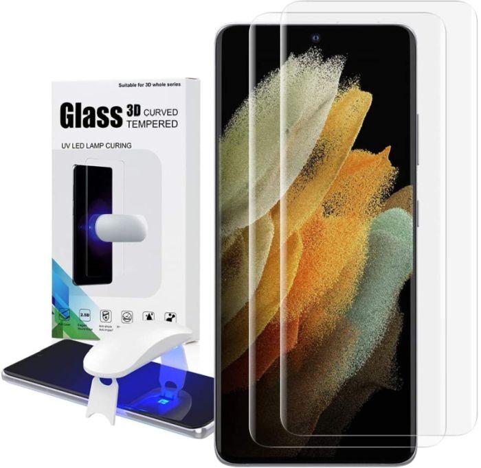 Los mejores protectores de pantalla para Samsung Galaxy S21 +