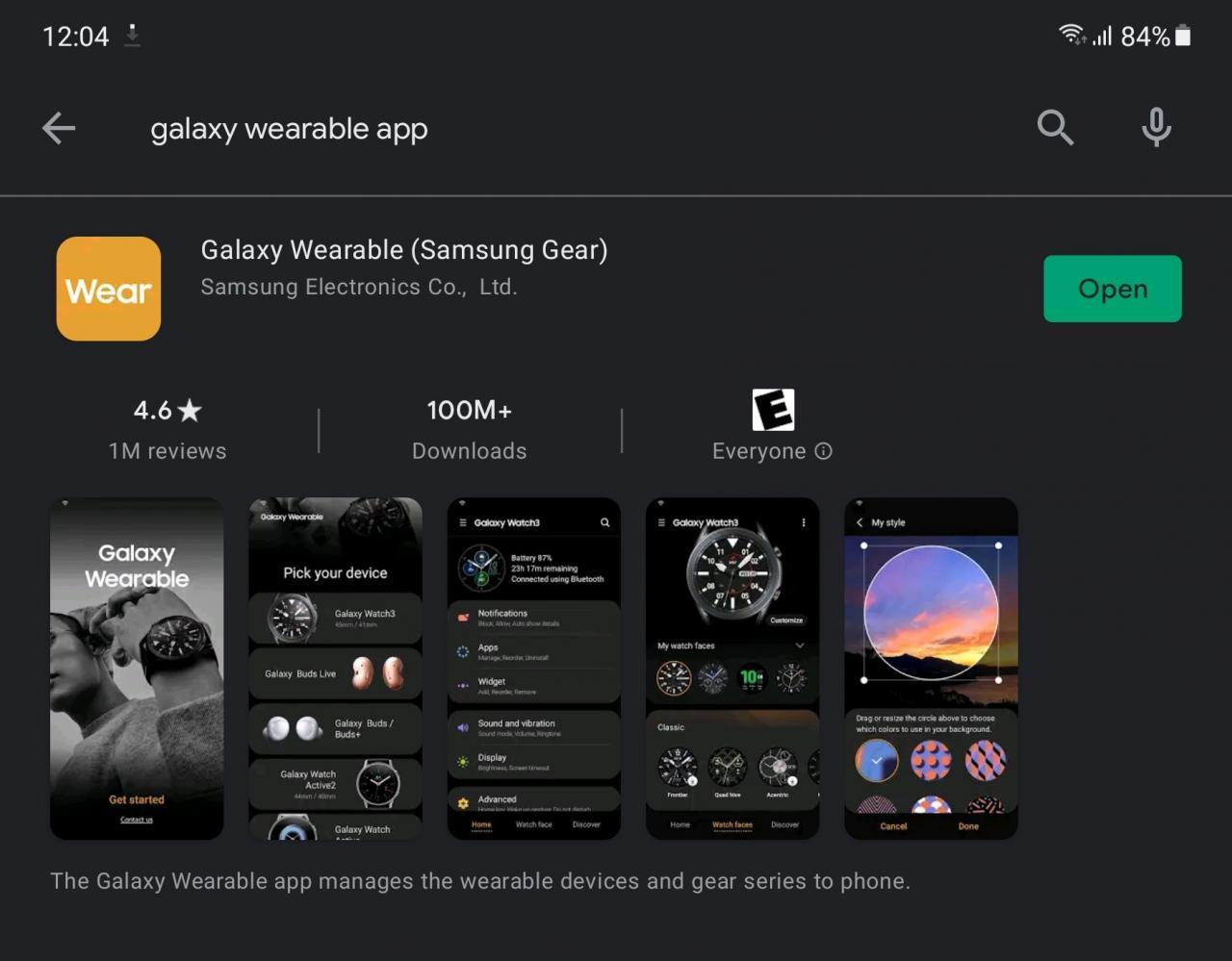 Psst! Si ya tiene la aplicación, simplemente vaya al Paso 2. - Cómo controlar el volumen en Galaxy Buds Pro con gestos táctiles