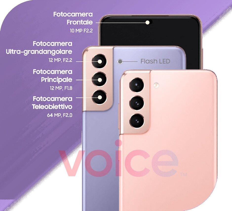 Especificaciones de la cámara del Galaxy S21 - Samsung Galaxy S21 vs Apple iPhone 12 Pro