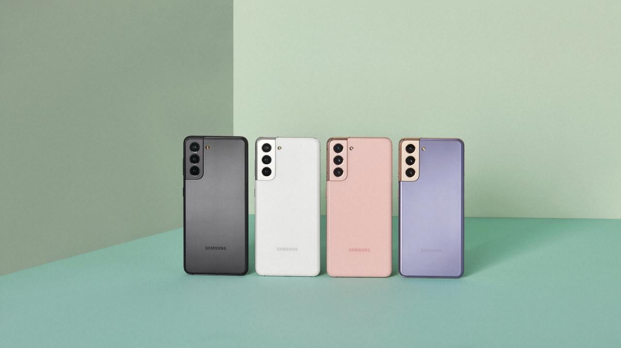 Las opciones de color del Galaxy S21 - Samsung Galaxy S21 vs Galaxy S20