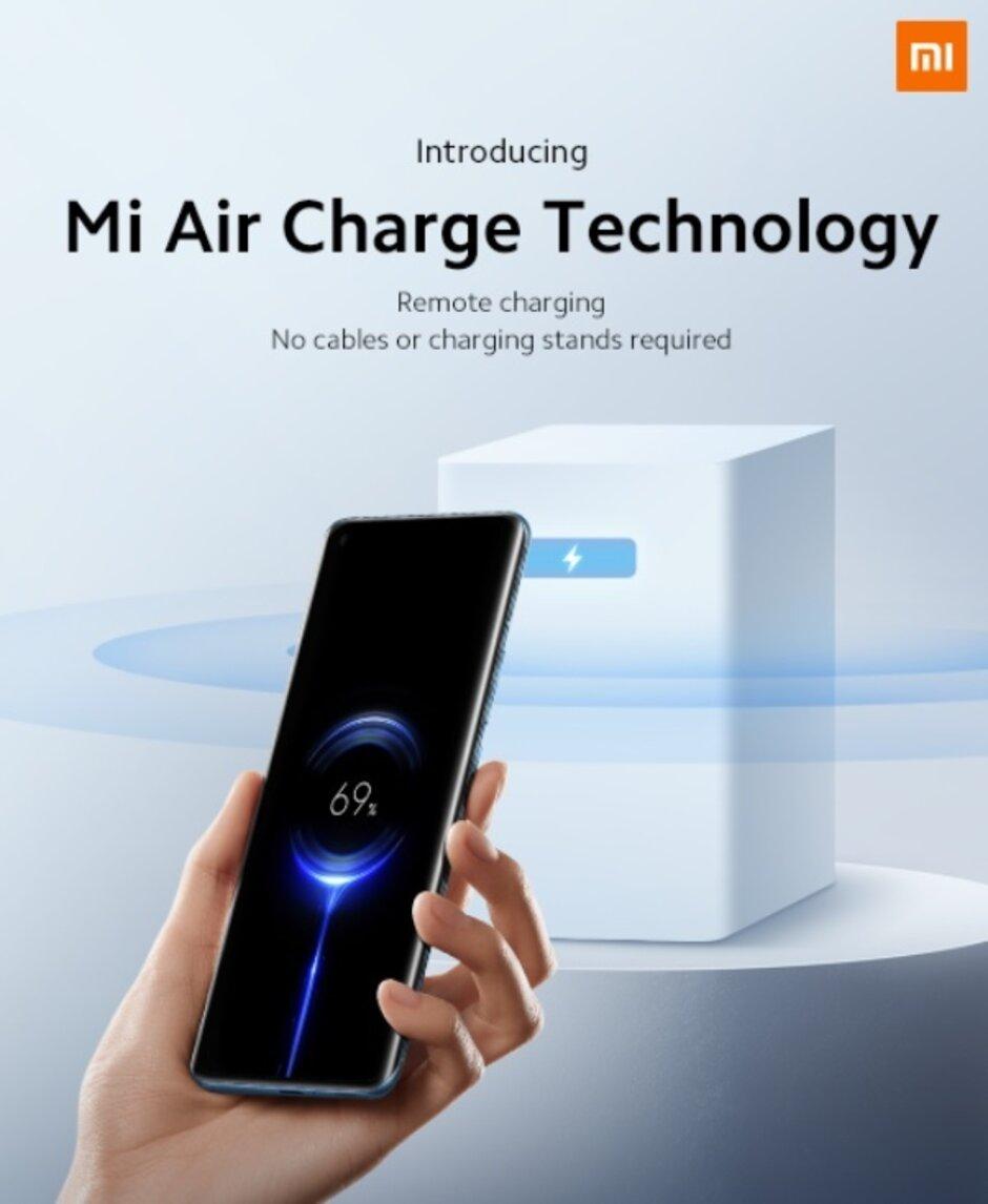 Xiaomi anuncia su tecnología de carga inalámbrica remota Mi Air Charge - Xiaomi presenta su nueva tecnología para una verdadera carga inalámbrica
