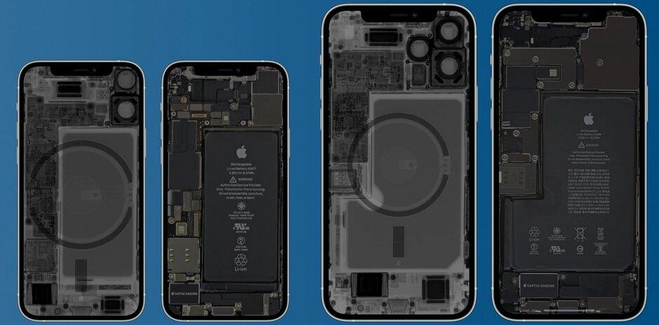 Se han colocado agnets dentro de los teléfonos de la serie iPhone 12 para la línea de accesorios MagSafe - El informe médico advierte: el teléfono de la serie Apple iPhone 12 y un accesorio MagSafe pueden apagar un marcapasos