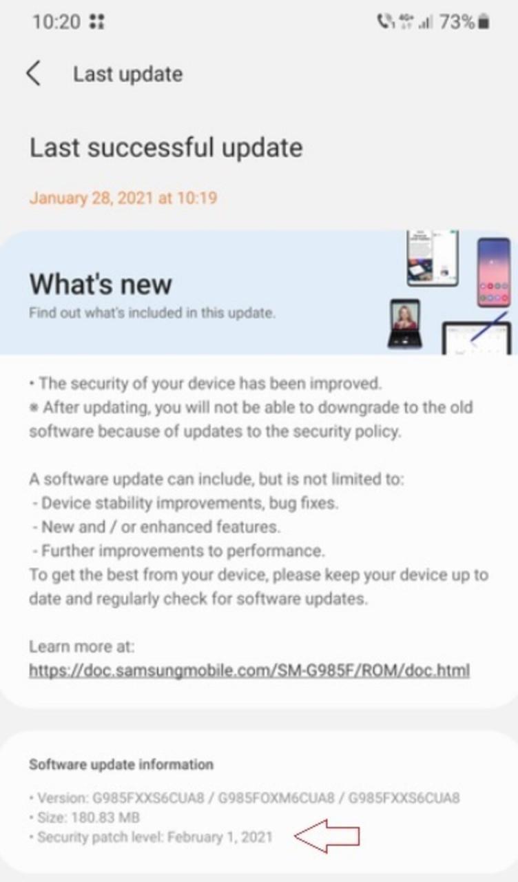 Samsung lanza el parche de seguridad de febrero de 2021 para la serie Galaxy S20 en enero: la serie 5G Samsung Galaxy S20 recibe una actualización de Android antes, incluso antes de que Pixels