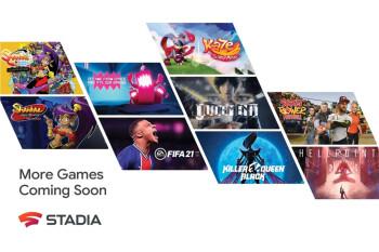 Más de 100 juegos nuevos llegarán a Google Stadia en 2021