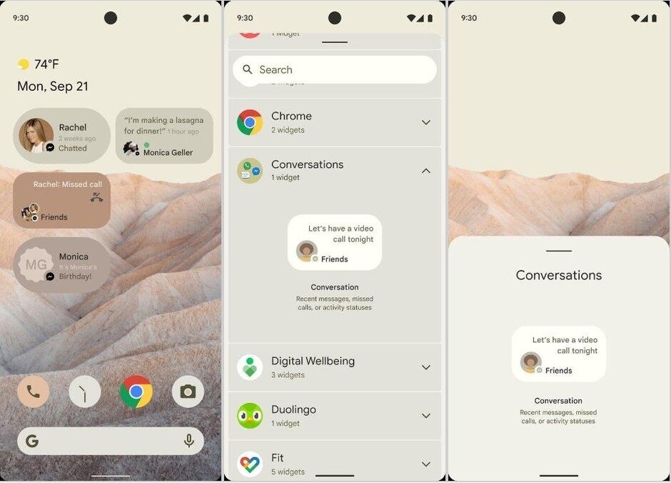 Una nueva apariencia llegará a Android con la próxima gran compilación: Leak nos da nuestro primer vistazo a la maqueta de Android 12 diseñada por Google