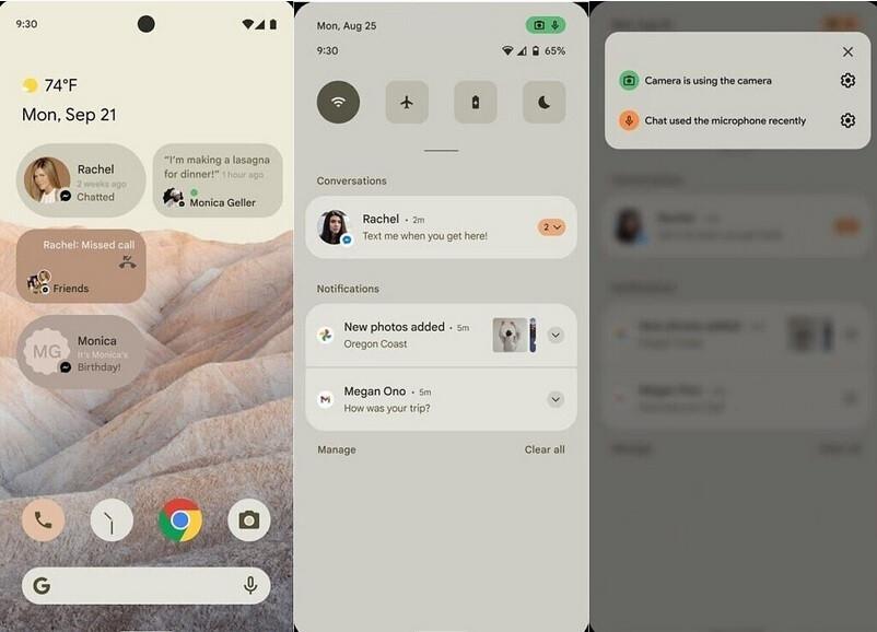 ¿Acabará Android 12 pareciéndose a esta maqueta? - Android 12 supuestamente incluirá un cambio en la interfaz de usuario para el patrón de bloqueo y mucho más