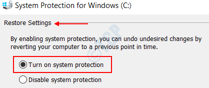 Turnonsystemprotection