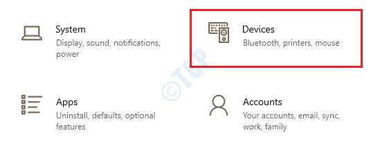 3 dispositivos de configuración
