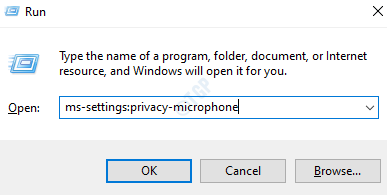 Ms Configuración Privacidad Micrófono Mín.