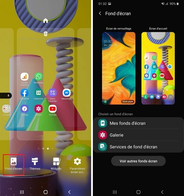 Cambia el fondo de pantalla de tu Samsung Galaxy