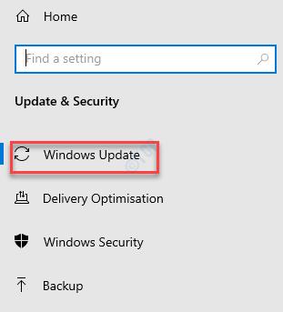 Configuración Actualización y seguridad Actualización de Windows