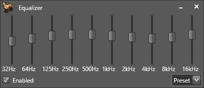 Ecualizador Fox Tunes