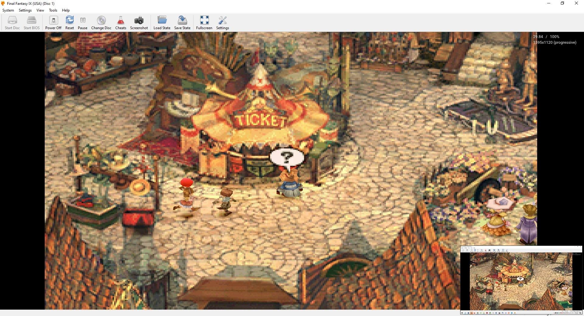 Ejemplo de emulador de Duckstation