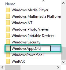 Windowsappsold Rename Min