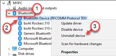 Desinstalar Bluetooth General Min