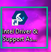 Asistente de controlador Intel Mín.