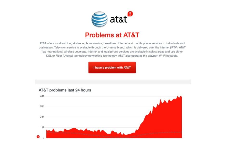 No eres tú, hace frío: T-Mobile y AT & amp; T están abajo en Texas y otras partes del país