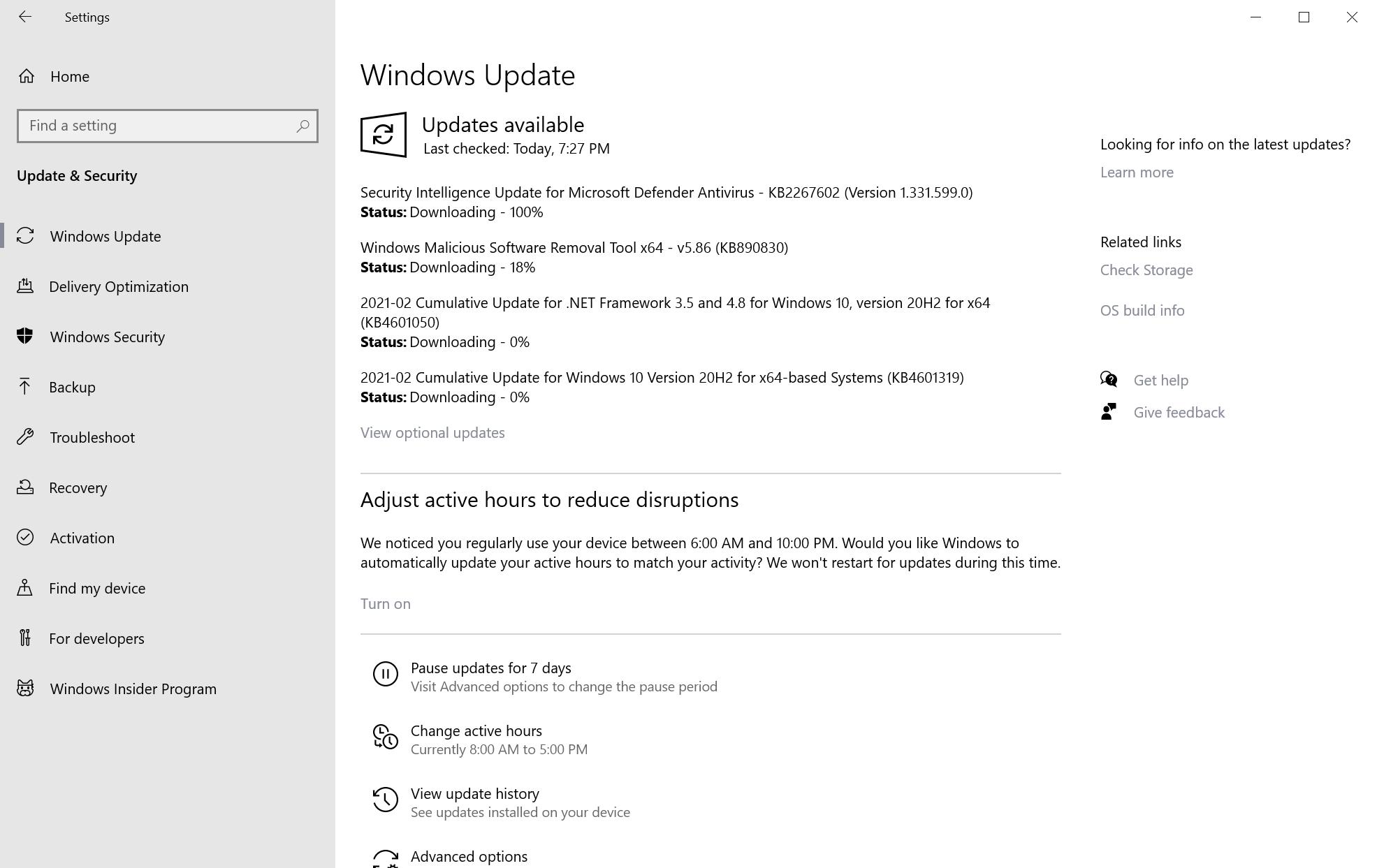 actualizaciones de seguridad de microsoft windows febrero de 2021