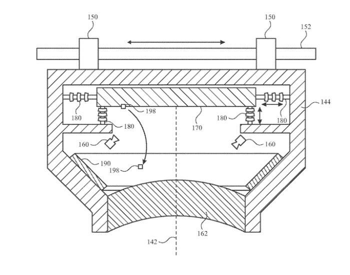 Imagen de la tecnología de autolimpieza que se encuentra en la patente: Аpple Glass presenta la función de autolimpieza