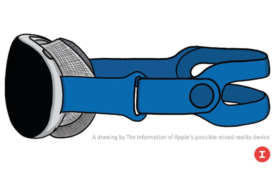 Bosquejo de los auriculares Apple AR / VR basado en la unidad prototipo - $ 3,000 Auriculares Apple AR / VR disponibles en 2022 con seguimiento ocular, pantallas 8K, mucho más