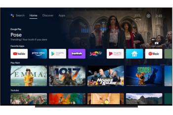 Google comienza a implementar la interfaz de Android TV actualizada