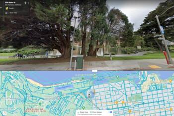 Google prueba la interfaz de usuario de pantalla dividida para Street View de Maps en Android