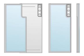 La patente de LG Rollable muestra nuevos detalles: segunda pantalla, módulo de cámara