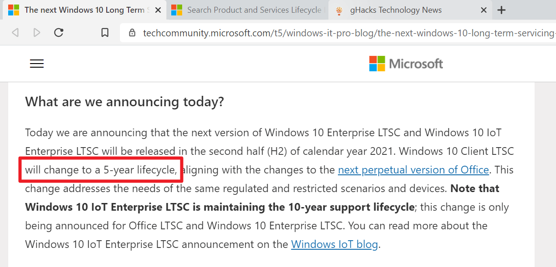 windows 10 empresarial ltsc