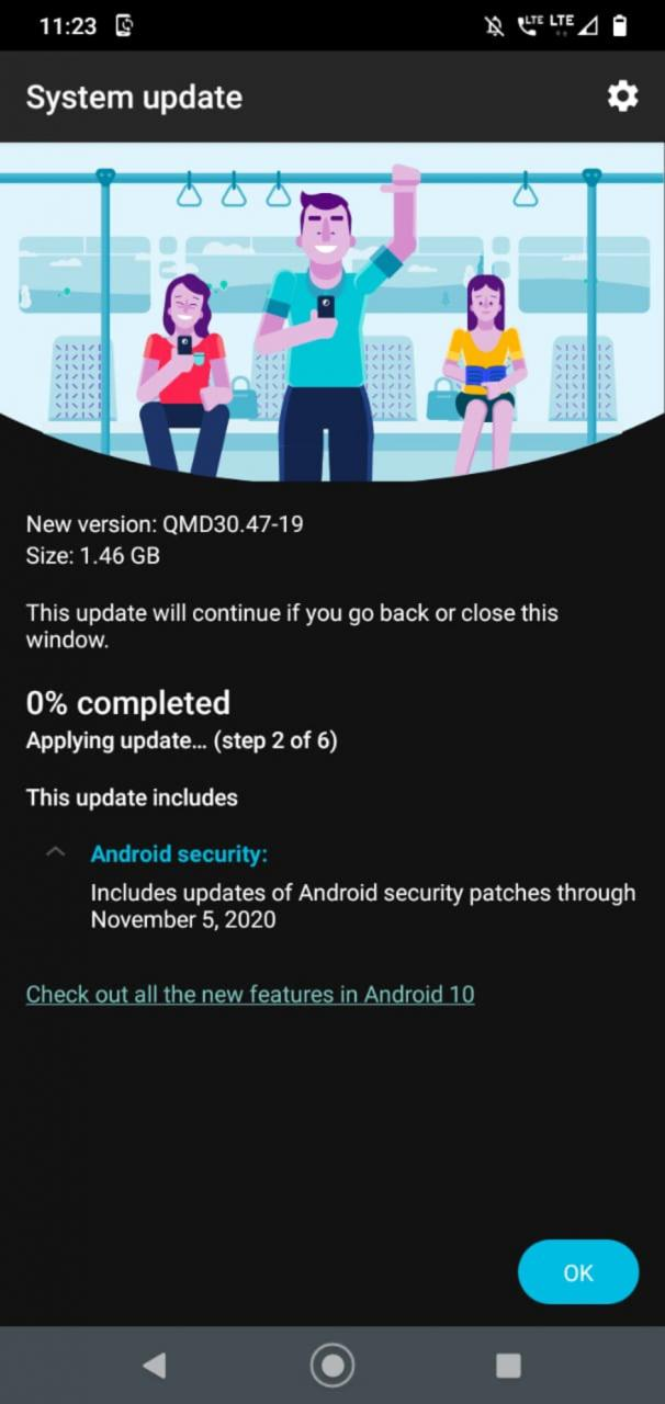 Actualización de Motorola One Macro Android 10: Motorola One Macro está recibiendo una actualización sorprendente, pero no es Android 11