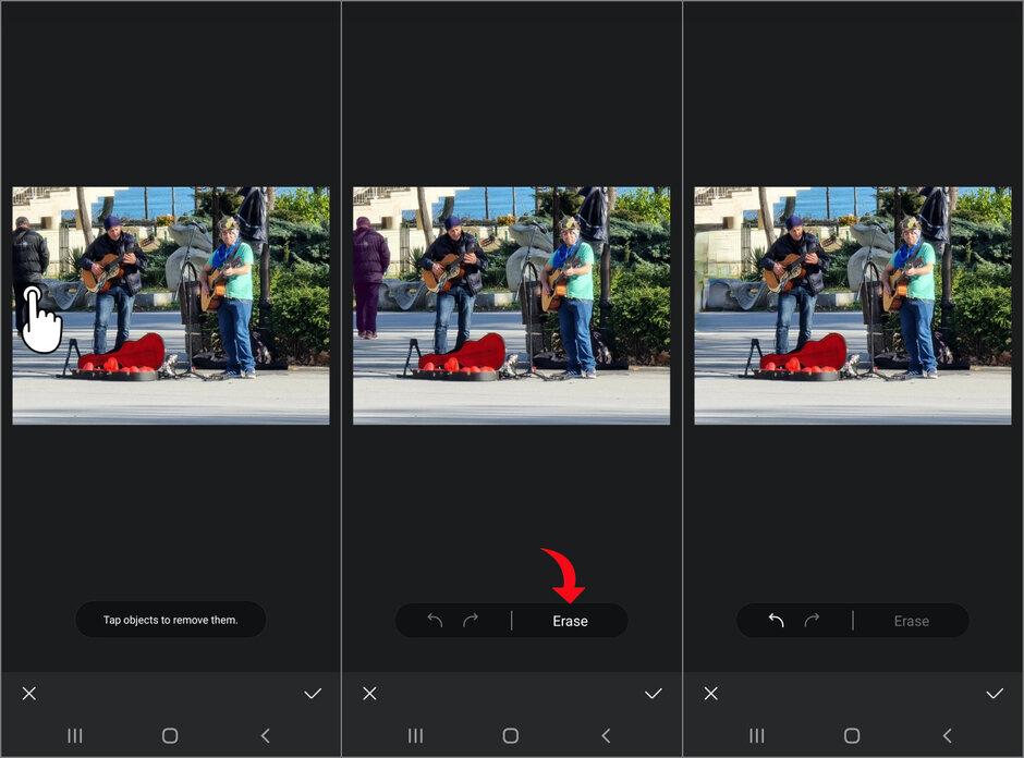 ¿Cómo eliminar objetos y personas de las fotos con Galaxy S21?