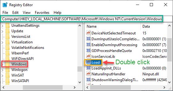 Carga mínima de Windows