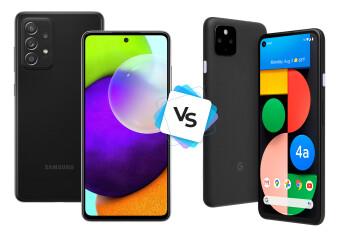Samsung Galaxy A52 5G vs Google Pixel 4a 5G: comparación inicial