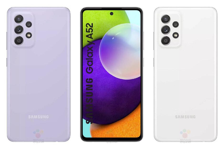 El último Galaxy A52 & amp; La fuga de A52 5G deja poco a la imaginación