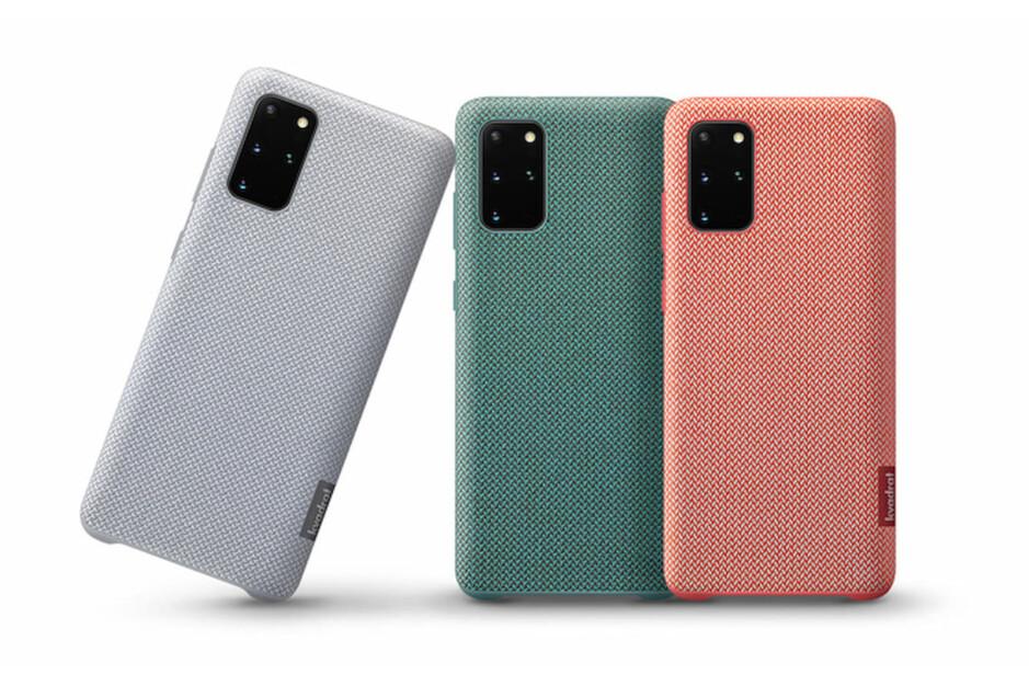 Las fundas Revival 'Upcycling for Good' del año pasado para S20 +, todavía disponibles en Samsung - Samsung colabora con Kvadrat para los diseños de fundas del Galaxy S21 +.