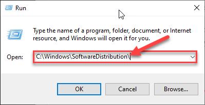 Ejecutar distribución de software mínima