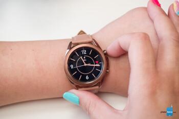 El Samsung Galaxy Watch 3 está tomando una página del Galaxy Watch Active 2 para variar