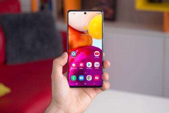 El Samsung Galaxy A71 5G desbloqueado tiene un 25% de descuento en Amazon