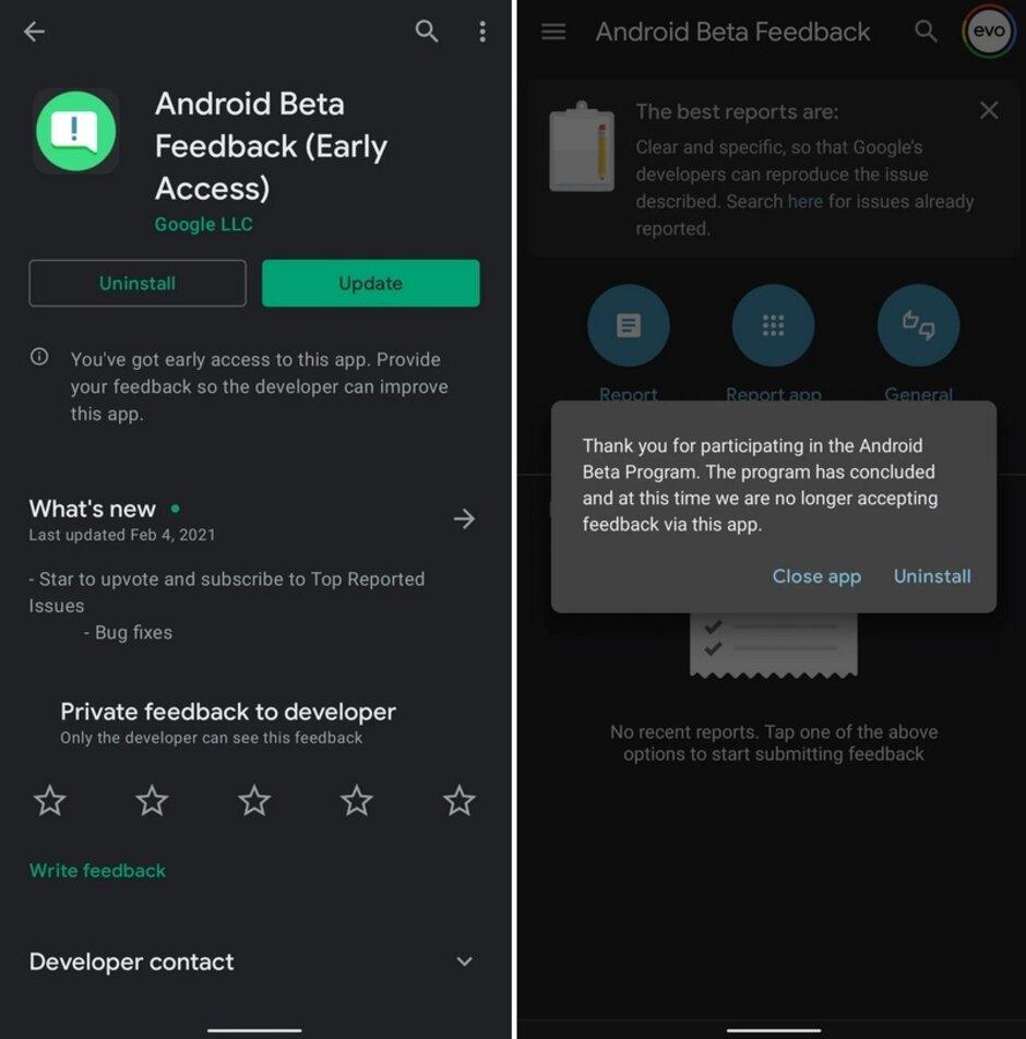 Google actualiza su aplicación Android Beta Feedback para Android 12 - Google acaba de dejar una pista de que el camino hacia Android 12 pronto estará abierto