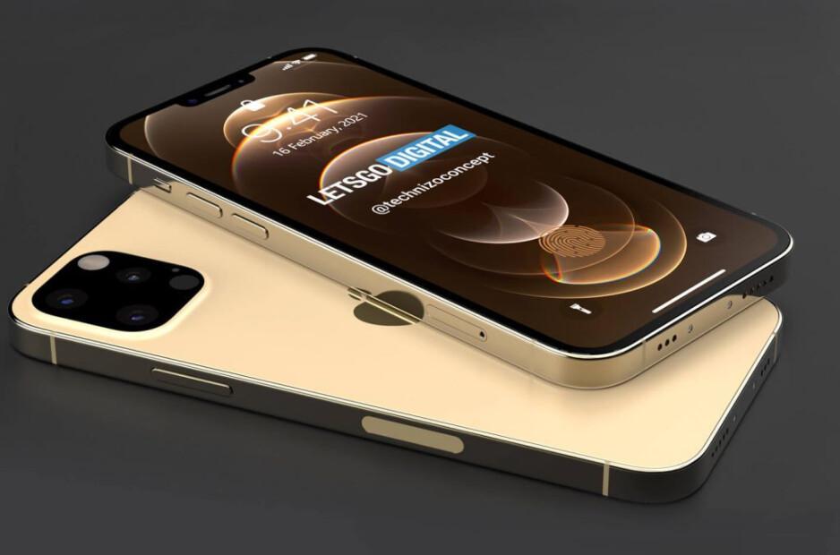 Render del Apple iPhone 13 Pro con una pantalla de 6.1 pulgadas: los renders 5G del iPhone 13 Pro revelan algo por lo que muchos usuarios de iPhone han orado
