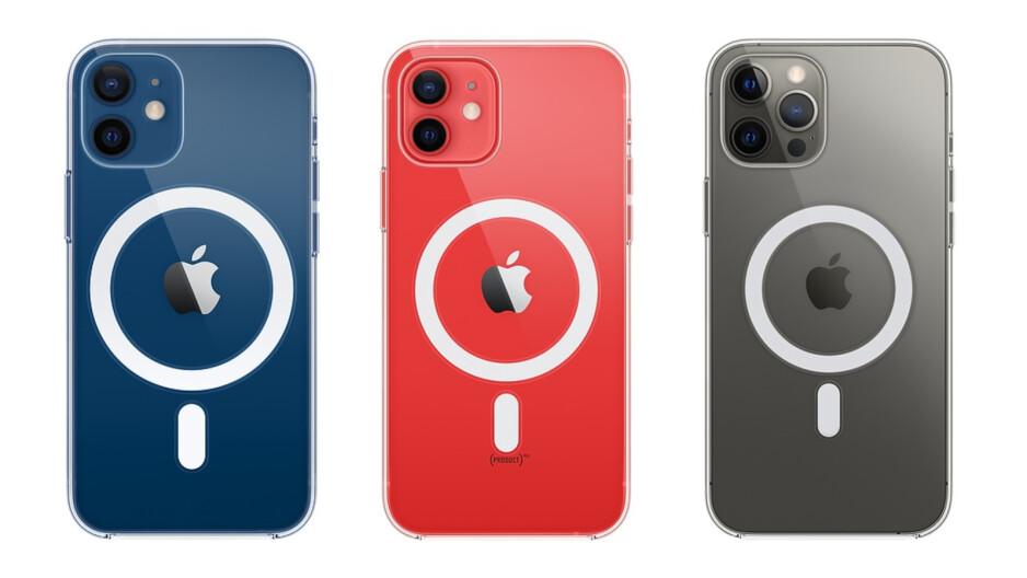 Funda transparente en el iPhone 12 Mini, iPhone 12 y iPhone 12 Pro Max - Los mejores accesorios MagSafe para iPhone 12