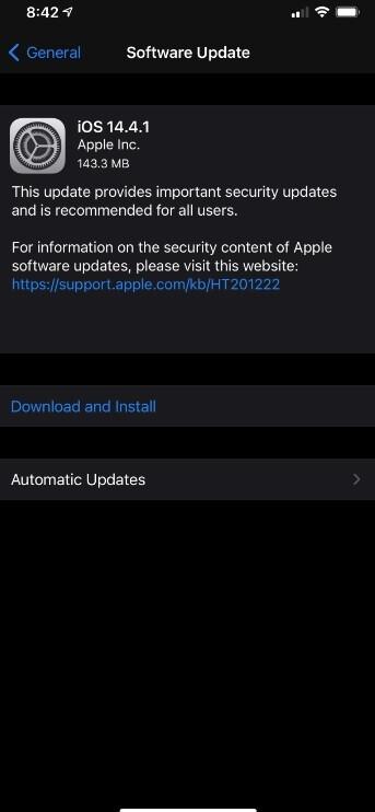 Apple lanza iOS 14.41 para corregir problemas de seguridad con el navegador del iPhone: se sentirá más seguro con el navegador Safari si instala las actualizaciones de iPhone y iPad de hoy