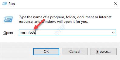 Ejecutar el comando Msinfo32 Enter